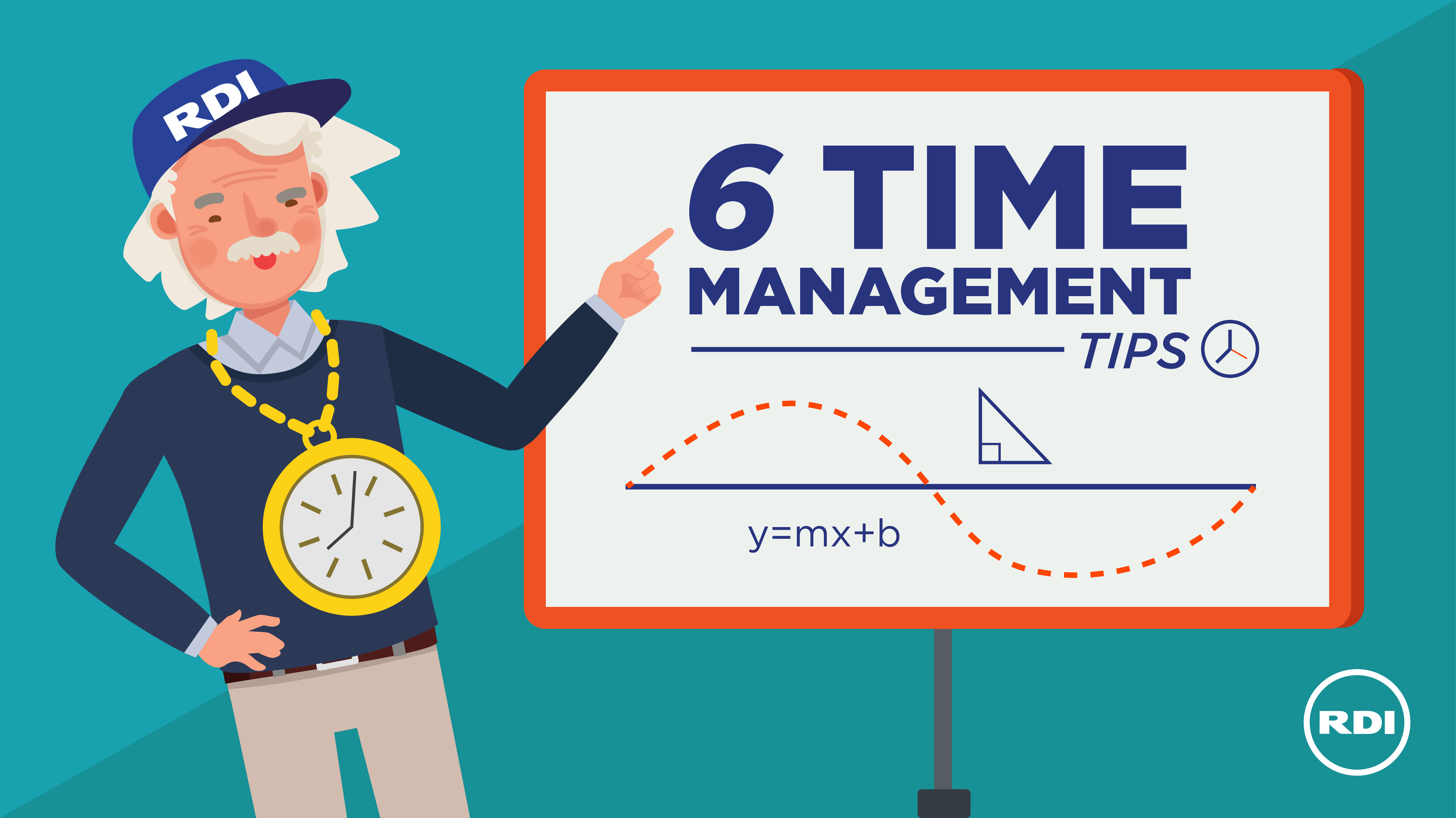 RDI Corporation - 6 Time Management Tips