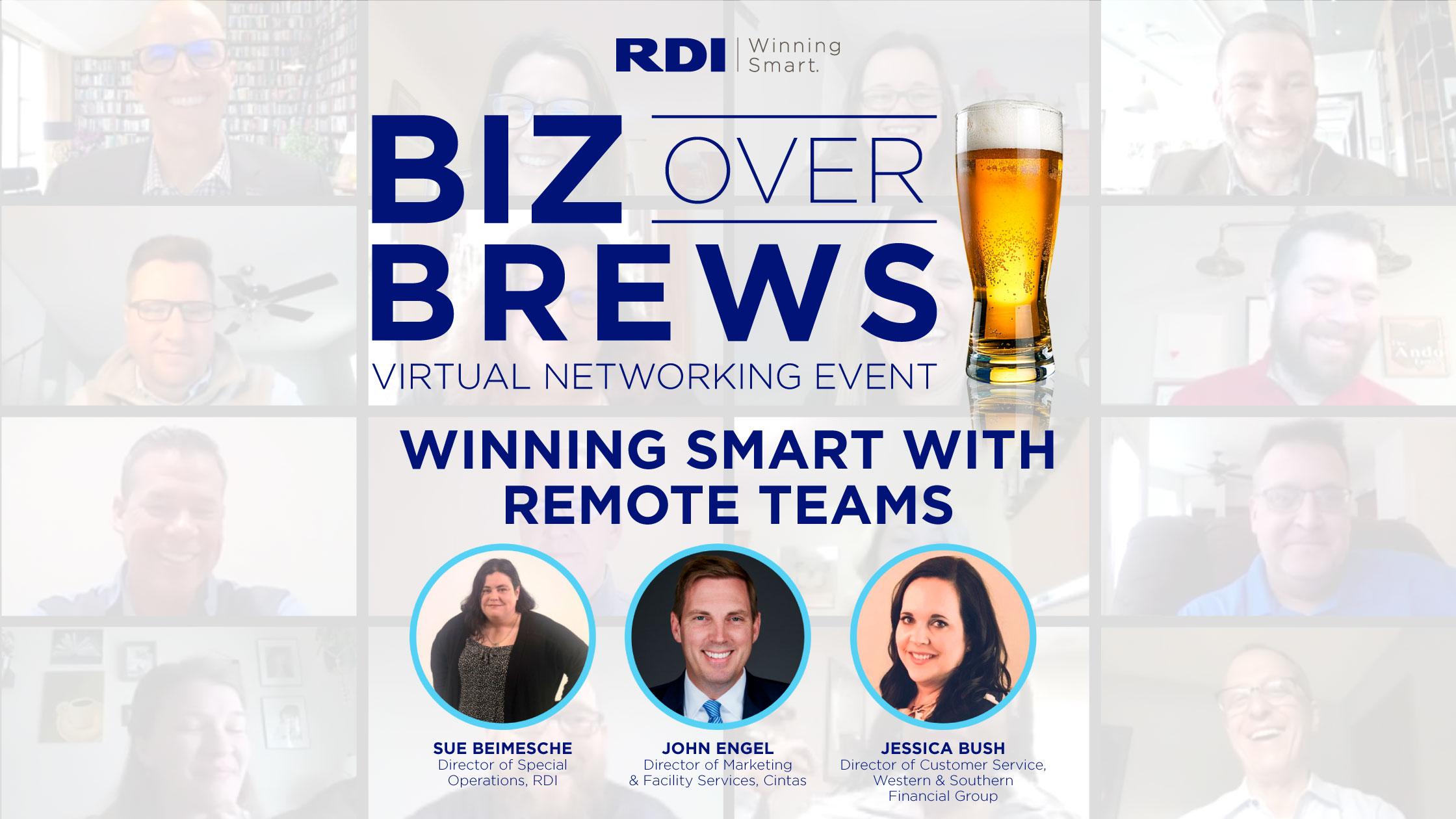 Biz Over Brews - Winning Smart with Remote Teams
