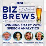 Biz Over Brews - Winning Smart with Speech Analytics