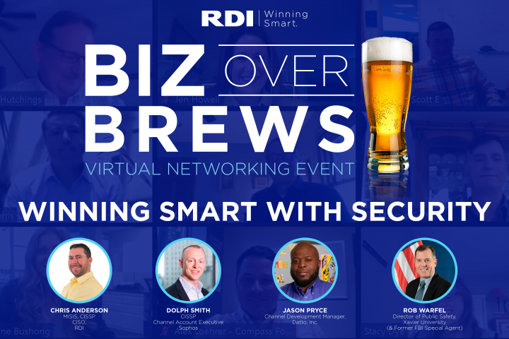 RDI Corporation - Biz Over Brews - Winning Smart with Security