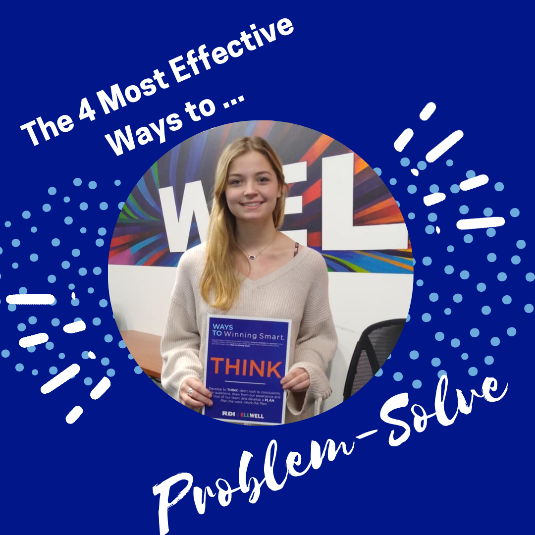 RDI Corporation blog - The 4 Most Effective Ways to Problem-Solve
