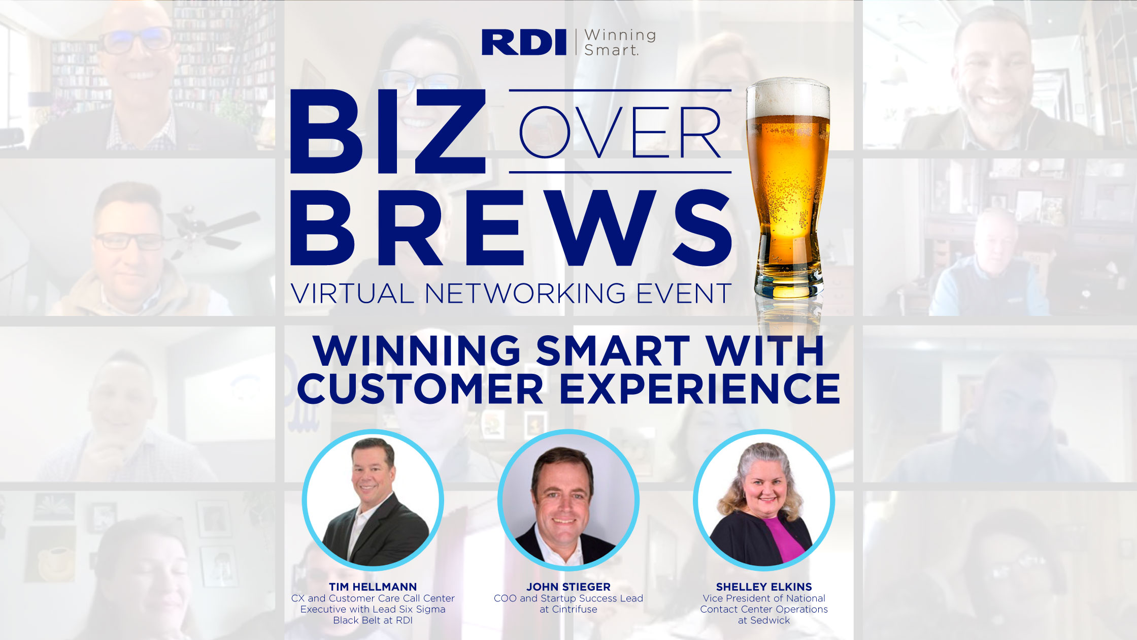 RDI Corporation - Biz Over Brews Winning Smart with Customer Experience