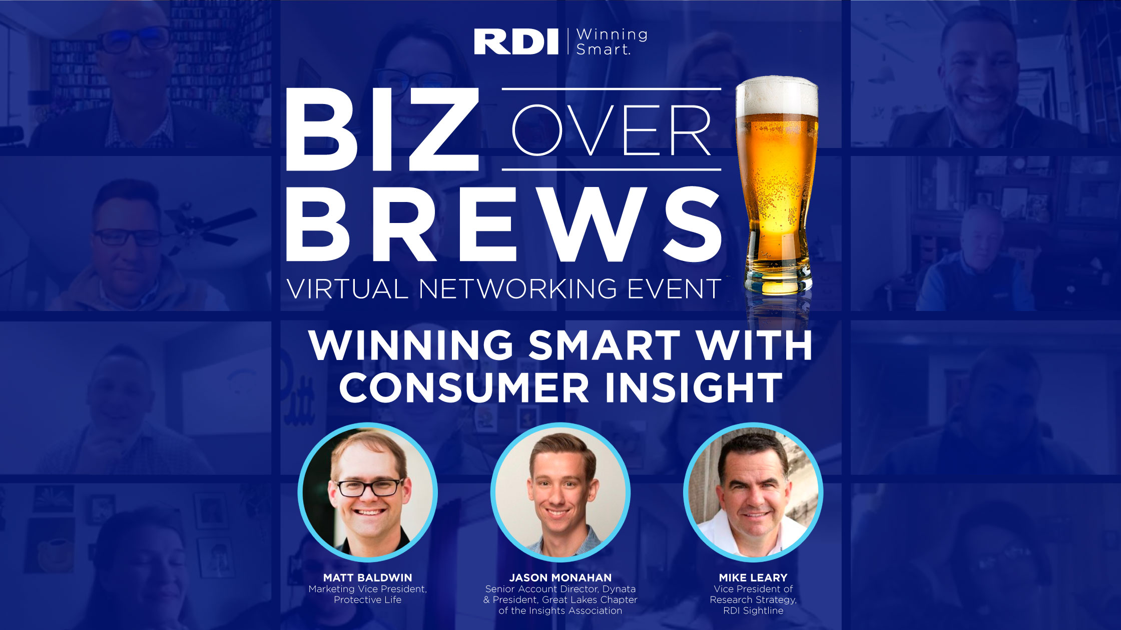 RDI Corporation - Biz Over Brews - Winning Smart with Consumer Insights