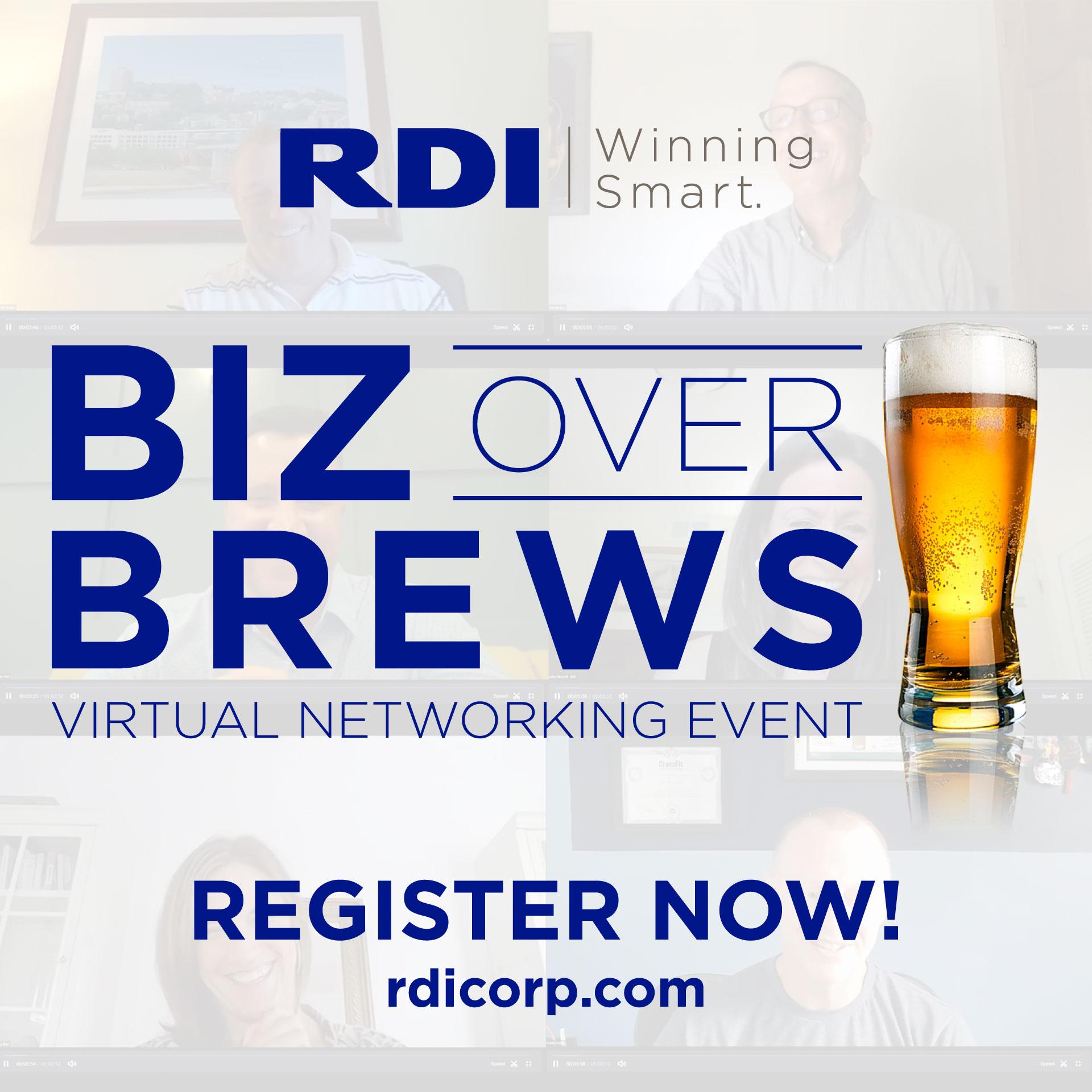 Biz Over Brews - Virtual Networking Event
