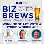 RDI Corporation - Biz Over Brews Virtual Networking Event - Winning Smart with a Hybrid Workplace