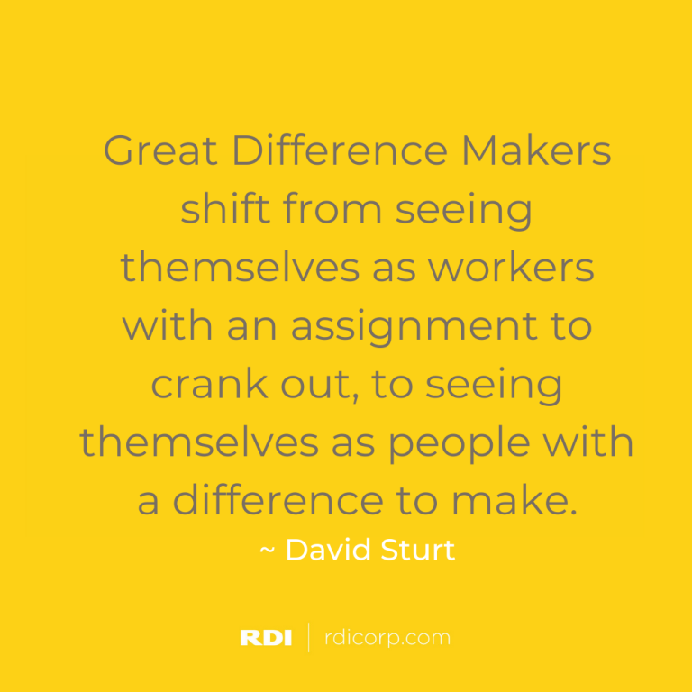 RDI Corporation Blog - 6 Ways to Make a Difference on Your Team and in Your Role